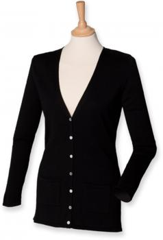 Ladies` Lightweight V-Neck Cardigan