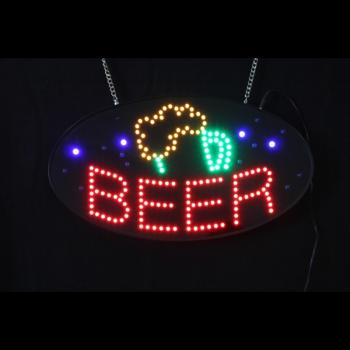 LED-skylt Beer