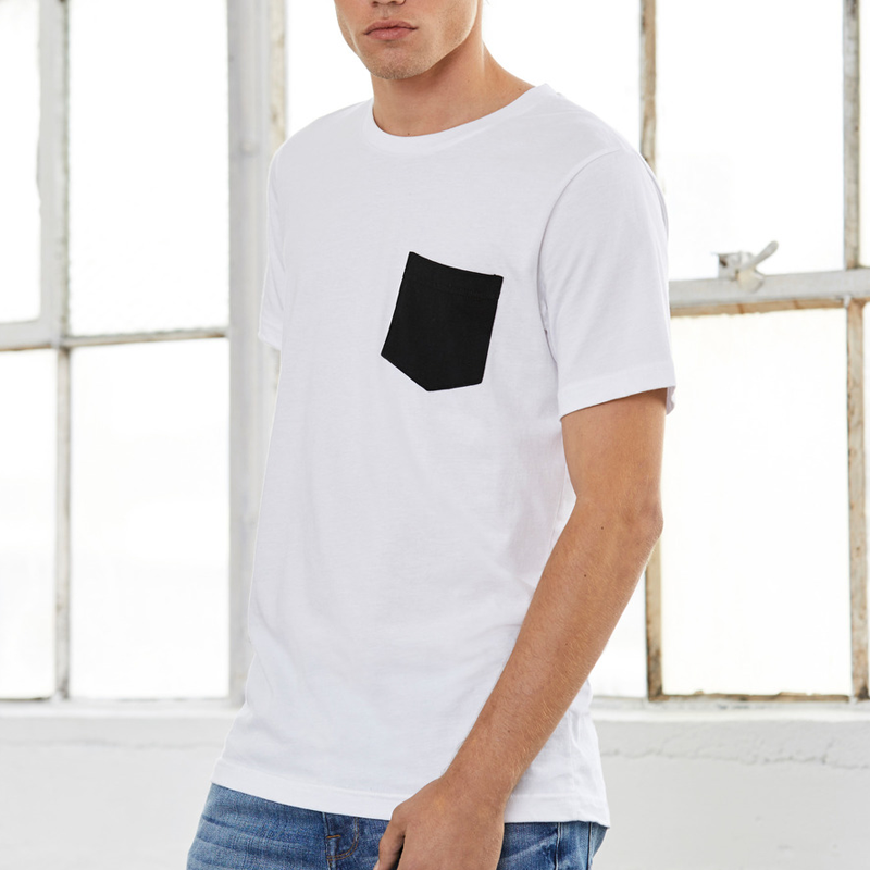 3942d10798d Herr Jersey Short Sleeve Pocket Tee