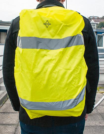 Hi-Viz Cover for backpacks EN 13356