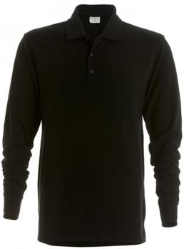 Men`s Piqué Polo Shirt Long Sleeve