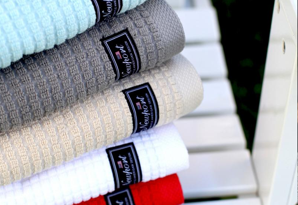 NewPort Fisher Island Terry Towels 2 / 4-pack