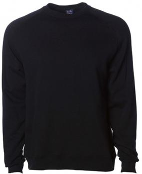 Men`s Lightweight Fitted Raglan Crew