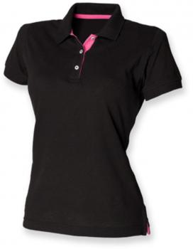 Ladies` Contrast Piqué Polo Shirt 65/35