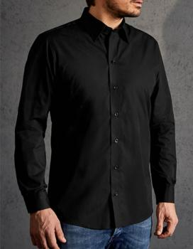 Men`s Poplin Shirt Long Sleeve