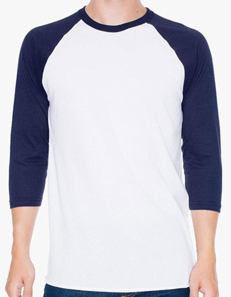 Unisex Poly-Cotton _ Sleeve Raglan T-Shirt