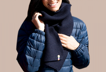 Buttom Trim Scarf