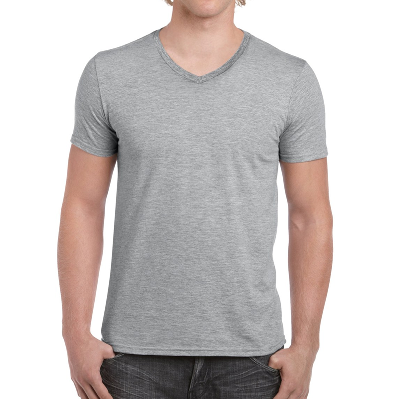 T-shirt v-ringad | Fashion fit