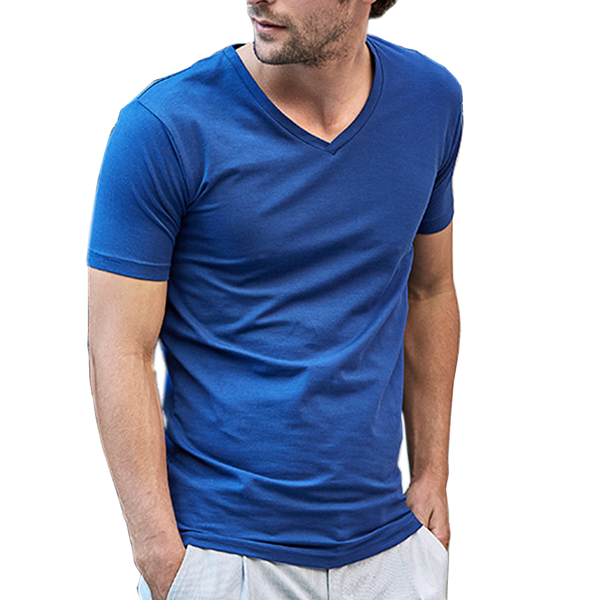 Herr Stretch t-shirt V-neck