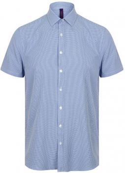 Men`s Gingham Cofrex/Pufy Wicking Shortsleeve Shirt