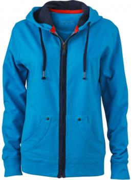 Ladies` Urban Hooded Sweat Jacket