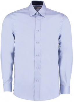 Men`s Contrast Premium Oxford Shirt Long Sleeve