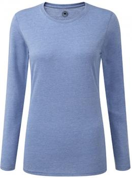 Ladies` Long Sleeve HD T-Shirt