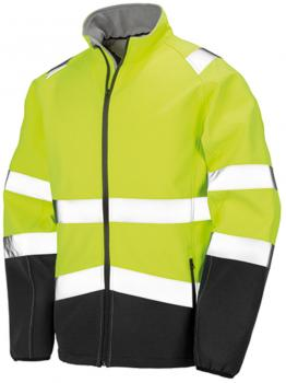 Printable Safety Softshell Jacket