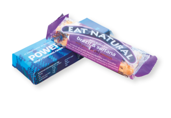 Eat Natural Bar med tryck