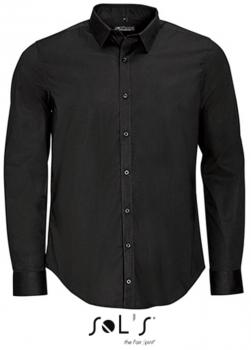 Men`s Long Sleeve Stretch Shirt Blake
