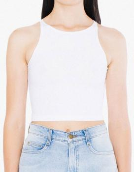 Women`s Sleeveless Crop Top