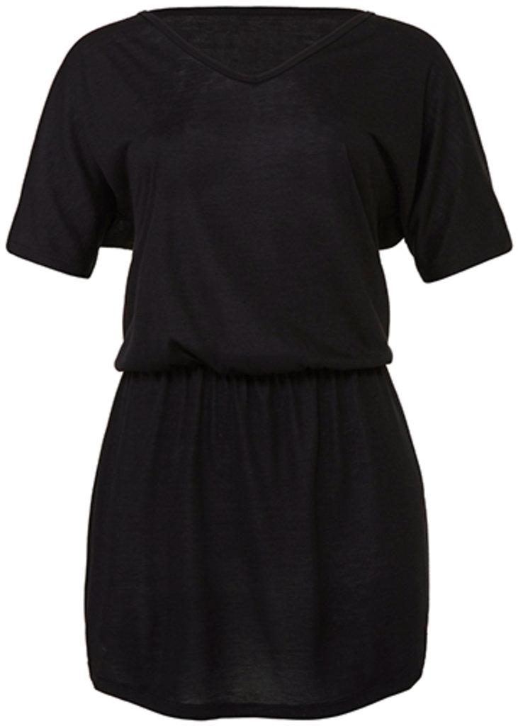 Women`s Flowy V-Neck Dress