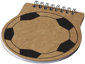 Score football notebook