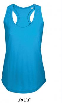 Women T-Back Tank Top Moka
