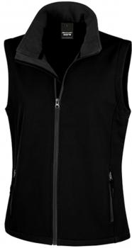 Ladies` Printable Soft Shell Bodywarmer