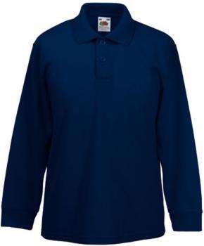 Long Sleeve 65/35 Polo Kids
