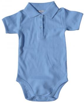 Bio Bodysuit with Polo shirt neck