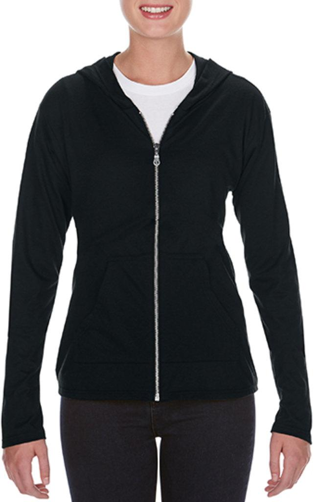 Women`s Tri-Blend Full-Zip Hooded Jacket