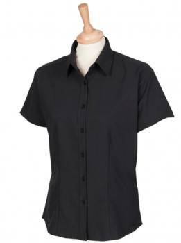 Ladies` Wicking Short Sleeve Shirt
