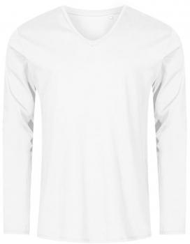 Men´s V-Neck T-Shirt Longsleeve