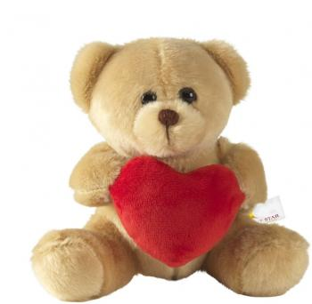 With Love Bear teddybjörn