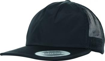 Unstructured Soft Visor Trucker Snapback
