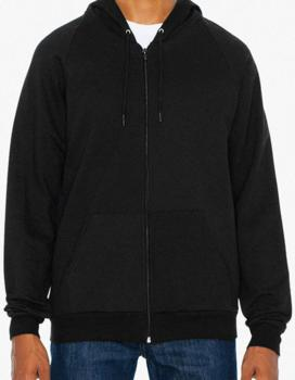 Unisex California Fleece Zip Hooded Sweatshirt
