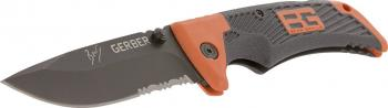 Bear Grylls Scout Drop Point Serrated