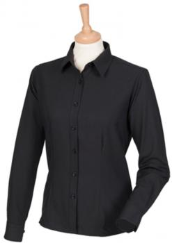 Ladies` Wicking Long Sleeve Shirt
