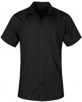 Men`s Poplin Shirt Short Sleeve